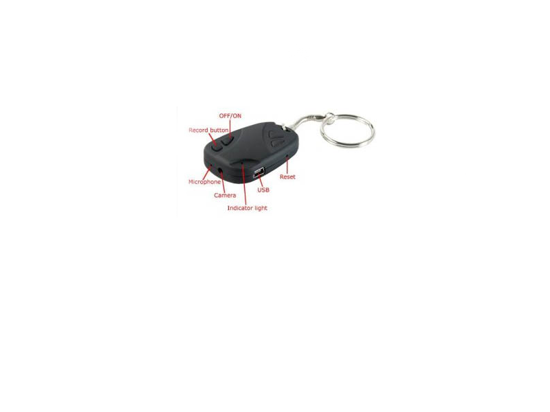 113/8  Spy Car Keyfob Digital Video Recorder CCTV Camera